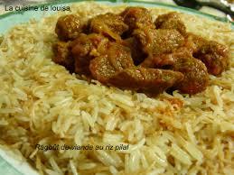 cuisine avec du riz ragoût de viande au riz pilaf le de lacuisinelouisa