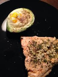 Bake Salmon In Toaster Oven A Favorite Breakfast Avocado On Toast With Fresh Tomatoes