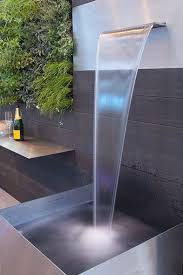 modern water features portfolio water features landscaping and water