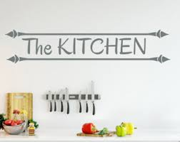 Wall Stickers For Kitchen by Kitchen Sticker Etsy