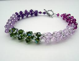 crystal bracelet swarovski images Try handmade gallerybuy tourmaline spirals swarovski crystal jpg