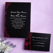 Red And Black Wedding Red And Black Wedding Invitations Orionjurinform Com