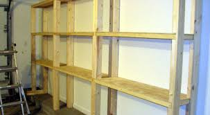 Wooden Shelves Making by 20 Making Wood Shelves Build Wooden Storage Shelves Basement