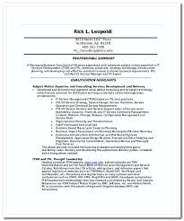 Itil Certified Resume Writing Cover Letter For It Jobs Properly