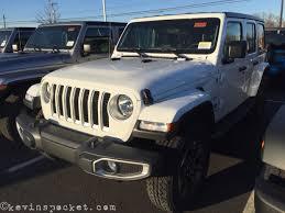 unique jeep colors bright white jeep wrangler jl sahara spotted kevinspocket