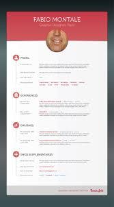 graphic design resume examples 2012 318 best originele cv s images on pinterest design resume fabio montale flat designresumegraphics