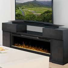 free standing electric fireplace duraflame 550 black infrared