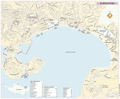 Acapulco Mexico Map by Rg B Format