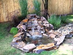 small home garden ponds and waterfalls ideas youtube outdoor pond