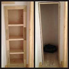 Bookcase Closet Doors Closet Bookcase Closet Door Secret Gun Room Bookcase Door
