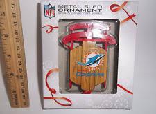 miami dolphins nfl ornaments ebay
