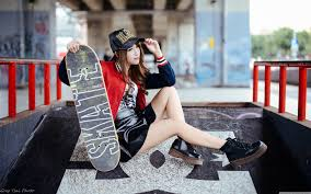 Wallpaper Girl Style   girl skateboarder style 4k hd desktop wallpaper for 4k ultra hd