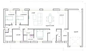 maison 4 chambres 45 luxe plan maison 4 chambres plain pied gratuit idées de décoration