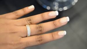 how to french manicure youtube