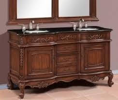 59 Double Sink Bathroom Vanity by Interesting 59 Inch Bathroom Vanity Duke Double Solid Wood
