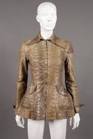 ossie clark ossie clark snakeskin jacket c 1967 for sale at 1stdibs