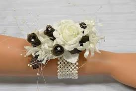 how to make corsages and boutonnieres ivory pearl stretchable wrist corsage bracelet corsage