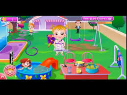 download ღ baby hazel cleaning time top baby dress up game for