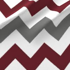 grey and burgundy chevron stripes fabric jessicabeauchamp