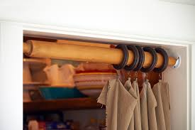 wood curtain rods closet u2014 all about home design beautiful wood