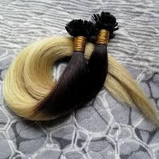 keratin extensions 1b 613 ombre hair extensions human keratin remy
