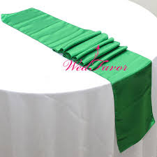 emerald green table runners wedfavor 30pcs high quality emerald green wedding party decoration