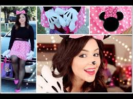 Halloween Costume Minnie Mouse Ready Minnie Mouse Hair Makeup U0026 Diy Costume