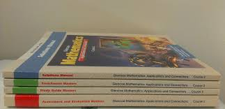 buy glencoe mathematics applications and concepts course 3
