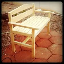 Simple Wood Bench Seat Plans by 337 Best Diy Outdoor Furniture Images On Pinterest Garden