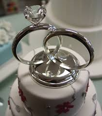 ring cake topper trendy wedding rings in 2016 wedding ring cake toppers