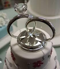 ring cake topper trendy wedding rings in 2016 wedding ring cake toppers