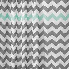 Gray Chevron Curtains Shop Shower Curtains U0026 Liners At Lowes Com