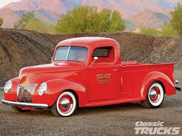 Vintage Ford Truck Advertisements - 1940 ford truck rod network