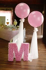 baby for baby showers 36 balloon décor ideas for baby showers digsdigs