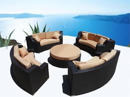 Sectional Patio Furniture Sets by Coastal Outdoor Furniture Small Outdoor Living Spaces Covered