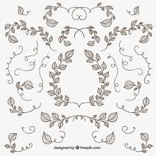isolated ornaments free vectors free vectors ui
