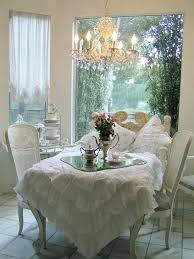 shabby chic pedestal dining table brown fur rug dining set design