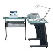 Metal And Glass Computer Desk Glass Corner Computer Desk U2013 Modelthreeenergy Com