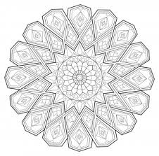 symmetry coloring pages mandalas coloring pages for adults justcolor