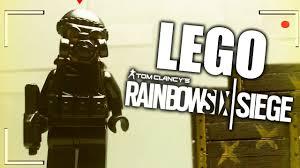 siege en rainbow six siege versión lego rainbow six siege en la vida