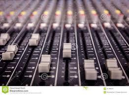 Recording Studio Mixing Desk by Recording Studio Mixing Console Stock Photo Image 42789873