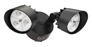 Outdoor Dusk To Dawn Light Lithonia Lighting Oflr 6lc 120 P Bz Integrated Led 2 Light Outdoor