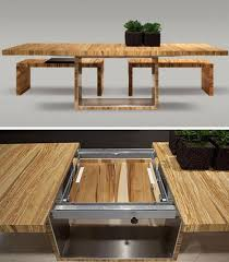 Ideas For Expanding Dining Tables Inspiring Ideas For Expanding Dining Tables Space Saving Ideas