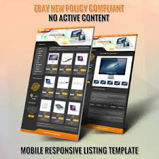 29ebay shop design and listing auction html templates free setup