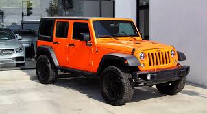 orange jeep 2016 2016 jeep wrangler unlimited rubicon 4x4 stock 180285 for sale