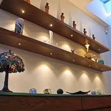 shelf with lights underneath led floating shelves with lights under cabinet lighting light shelf