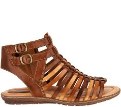 earth leather gladiator sandals sky page 1 u2014 qvc com