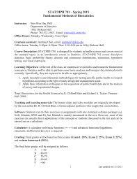 stat mph 701 fundamental methods of biostatistics