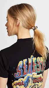 kitsch hair ties kitsch metal bead hair tie set shopbop