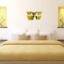 direct selling home decor 2017 direct selling gift butterfly acrylic mirror 3d multi piece set